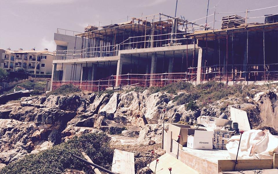 Estructuras SASTRE construcción en Cala-Magrana-Taylor-Wimpey