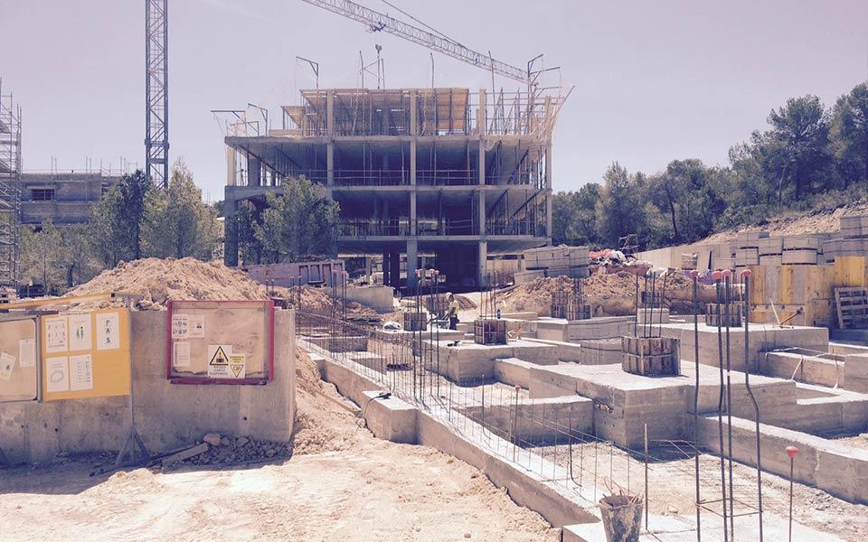 Estructuras SASTRE construcción en Santa-Ponsa-Taylor-Wimpey