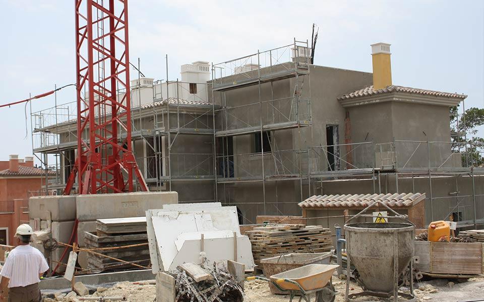 Estructuras SASTRE construcción en taylor-wimpey-camp-de-mar13