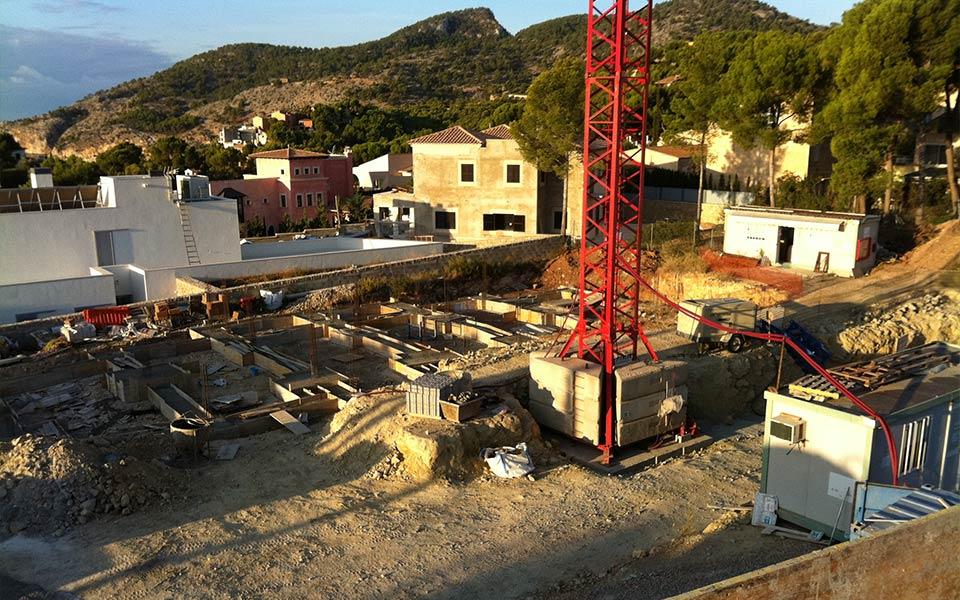 Estructuras SASTRE construcción en taylor-wimpey-camp-de-mar